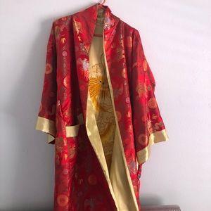 Chinese cherry red robe